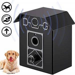 ULTPEAK Dog Bark Control Anti Bark 50 FT Range Stop Barking Devic
