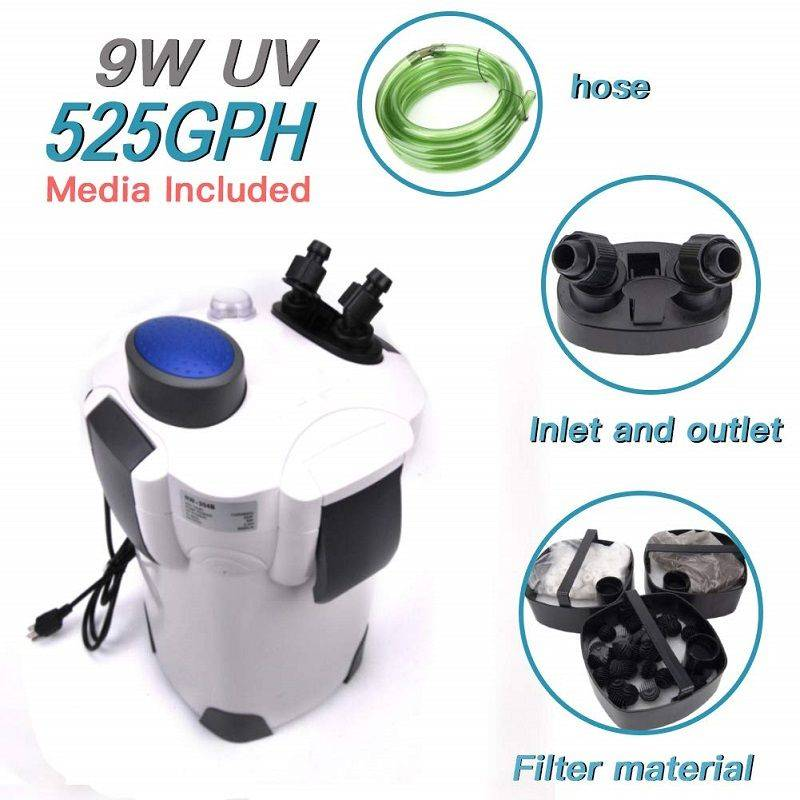 canister filter for saltwater reviews